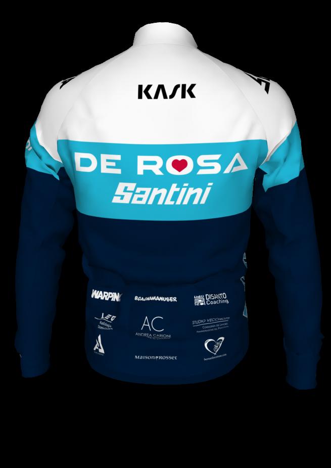 Giubbino Invernale Team De Rosa Santini
