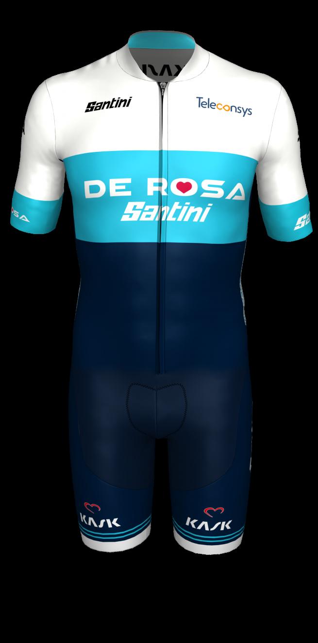 Body Strada Team De Rosa Santini